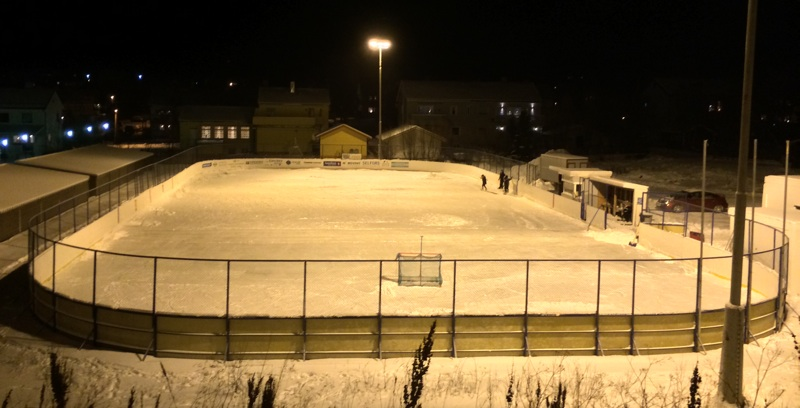 Ice stadium in Kirkenes