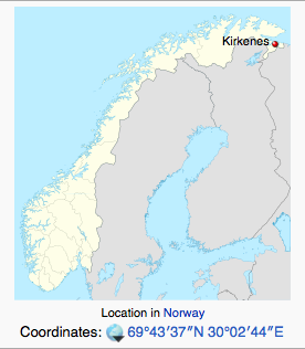 Where is Kirkenes