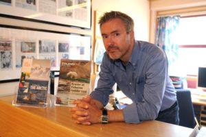 Eirik Palm – Editor of the Svalbard Post