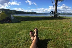 Cycling in Norway with Andrew P Sykes