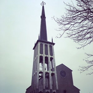 Tower of Bodø Cathedral
