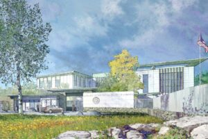 Norway's New American Embassy Takes Shape