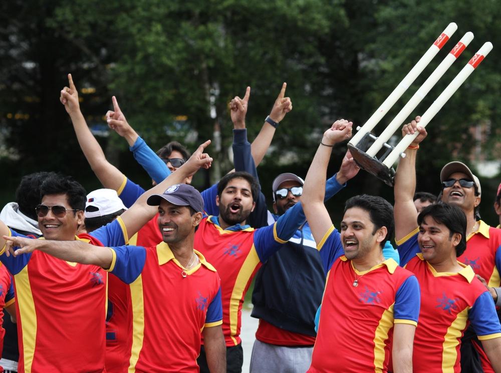 Cricket champions in Stavanger
