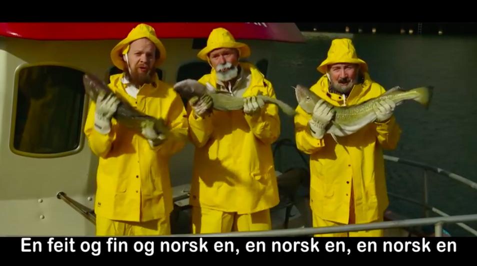 Fish advert