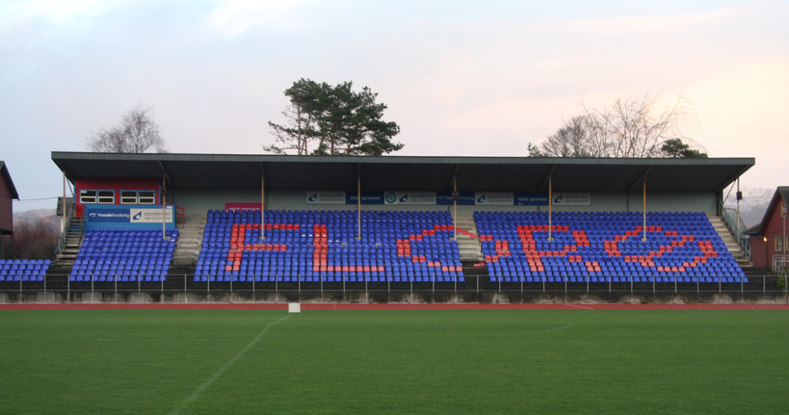 Florø football stadium