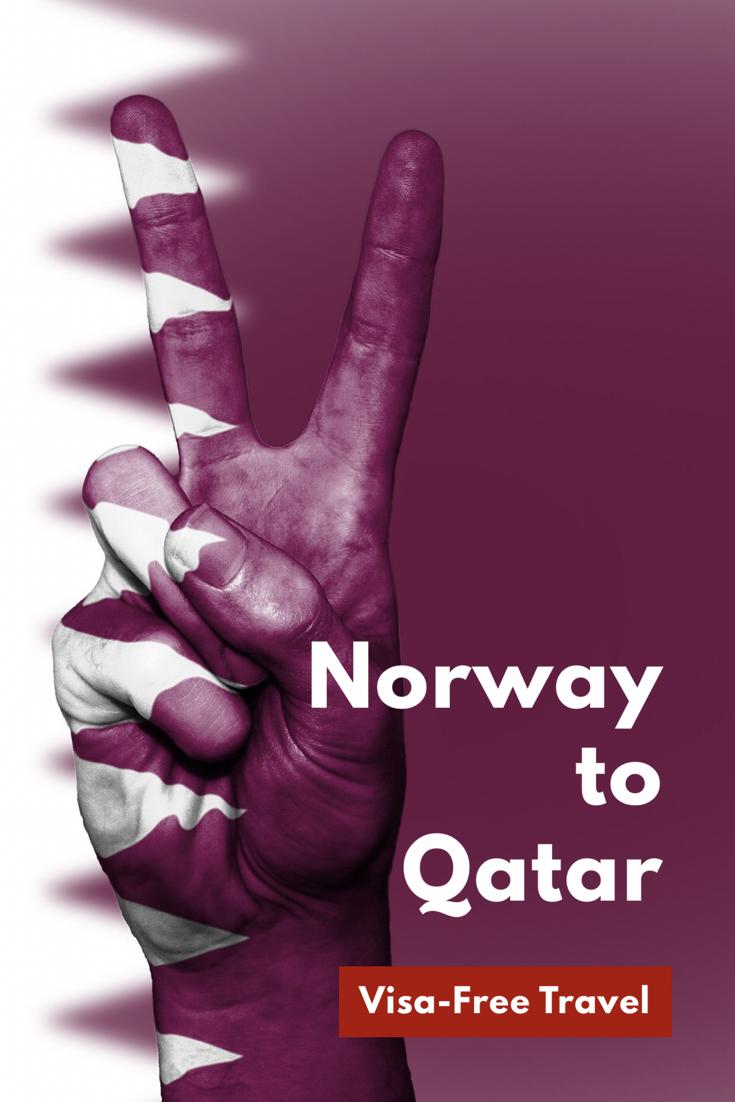 Norway to Qatar visa-free travel