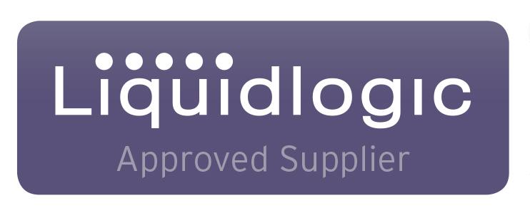 Liquidlogic logo on White background