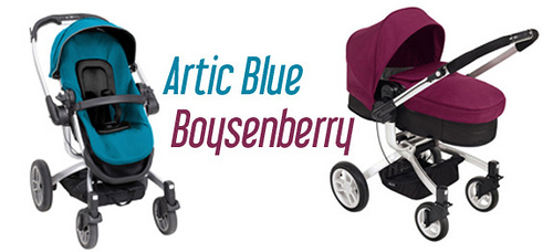 Graco Symbio Artic Blue and Boysenberry
