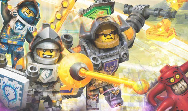 Lego Nexo Knights 4D: The Book of Creativity