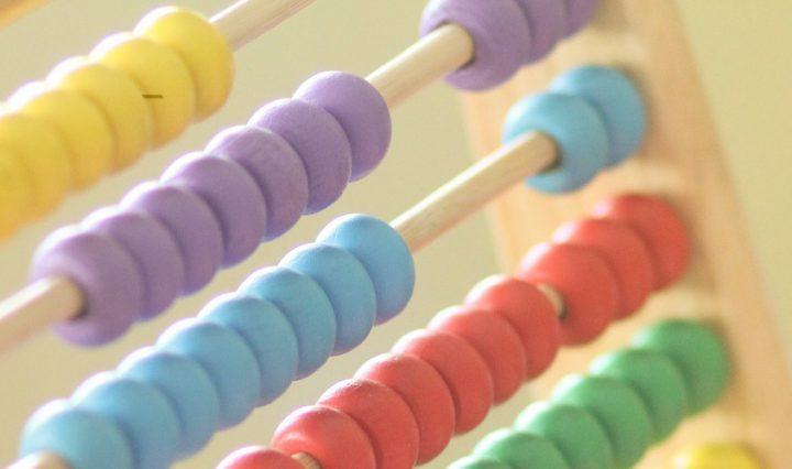 STEM maths abacus