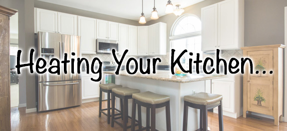 heating your kitchen