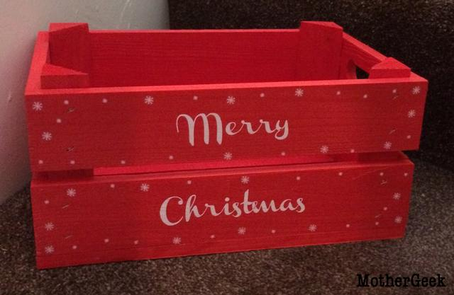 Christmas Book Advent Calendar - storage