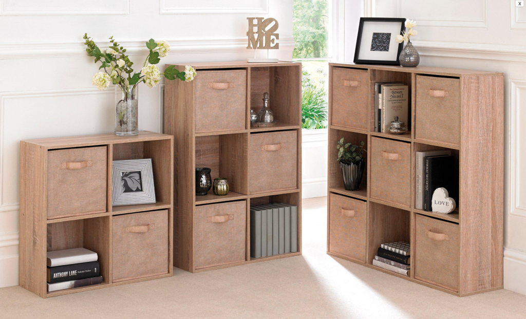 boxroom space saving ideas - storage cubes