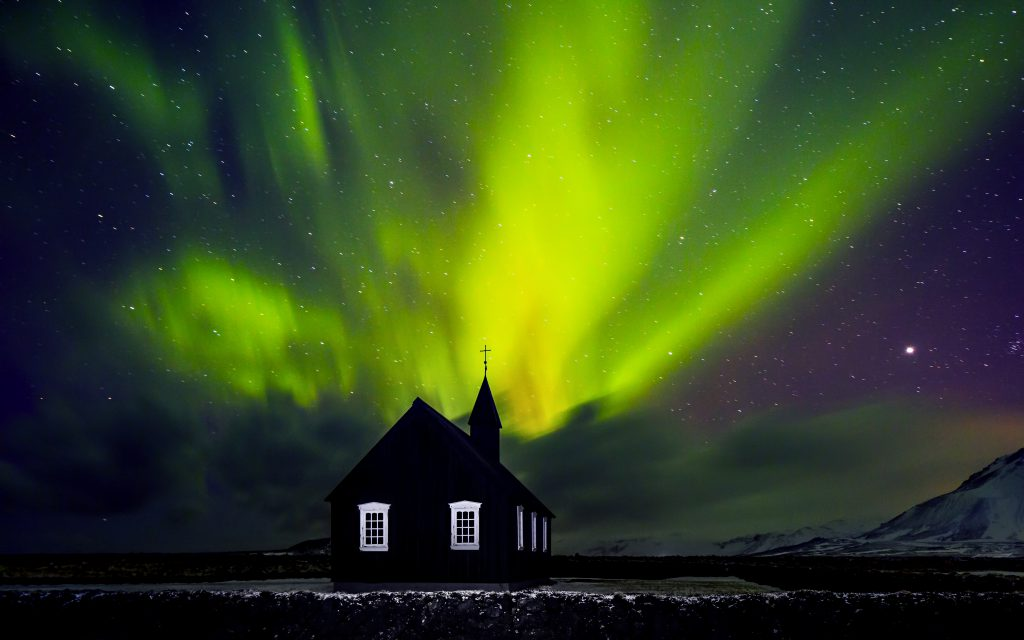 which locations are on my bucket list - Northern Lights in Iceland