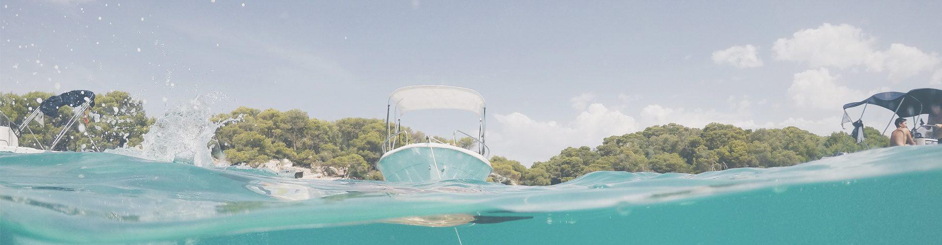 Menorca Mediterranean sea