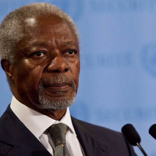 Ghana declares week of mourning after death of Annan