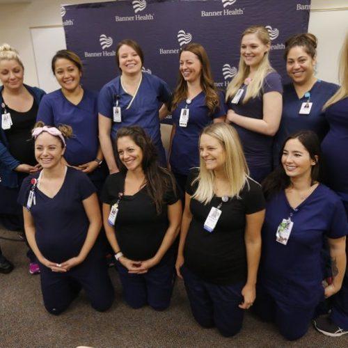 Baby boom at Arizona hospital with 16 pregnant nurses