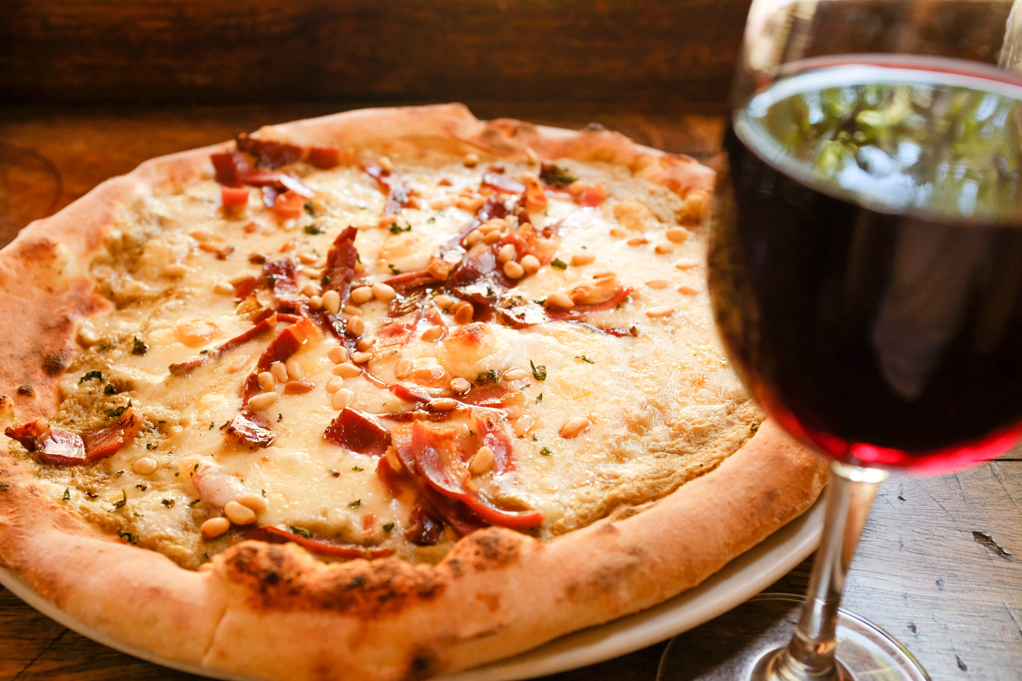 Sweet Thursday pizza