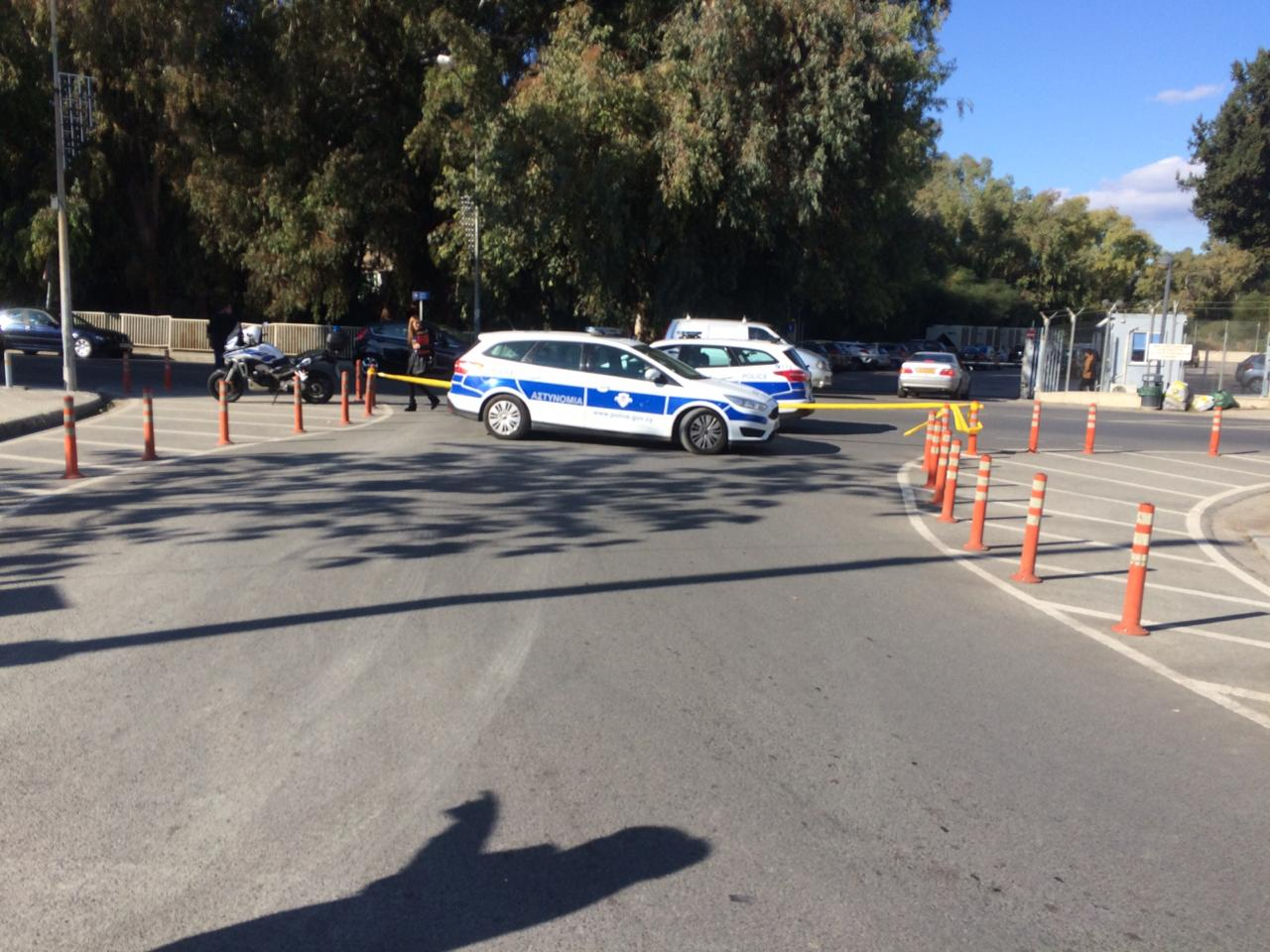 Bomb scare at American academy school in Nicosia, Cyprus. School evacuated 28