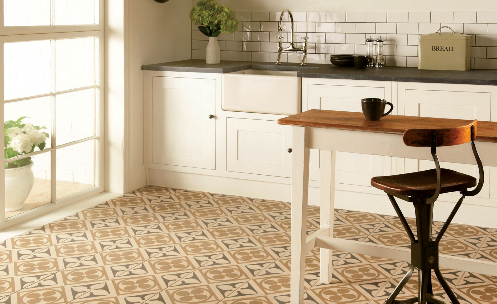 Ceramic tile floors pictures