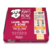 Poppy's Picnic Lamb, Tripe And Bone Raw Dog Food