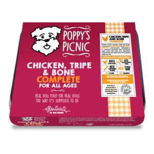 Poppy's Picnic Chicken, Tripe And Bone Raw Dog Food