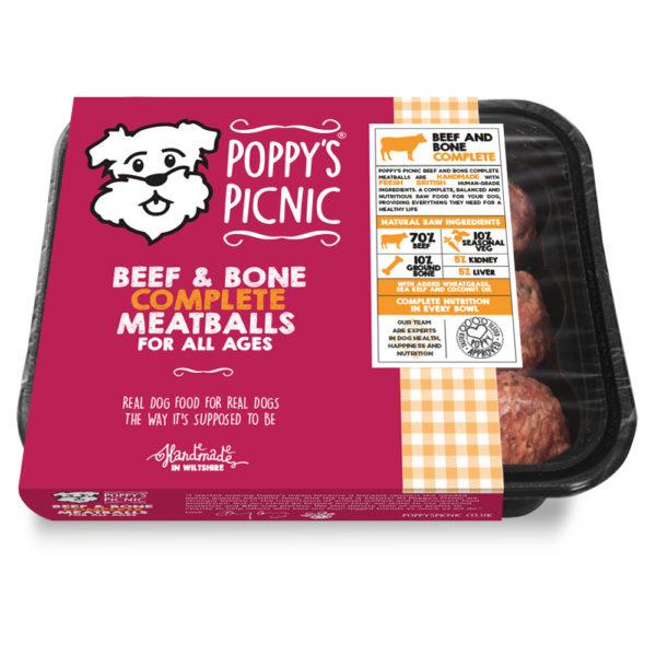Poppy's-Picnic-3D-pack-Beef&Bone_Complete_Meatballs