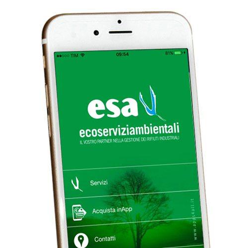 App Esa eco-servizi-ambientali