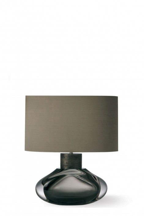 Cologne Lamp | Charcoal with Very Decayed Silver