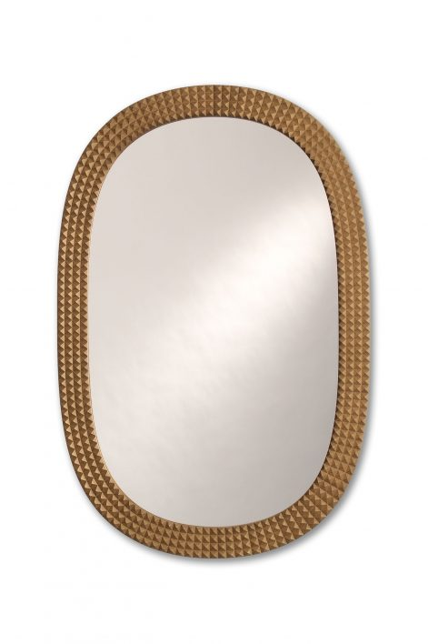 Hardy Mirror | Antique Gold