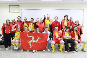 Team IOM came 4th in the Korean World Winter games 2013