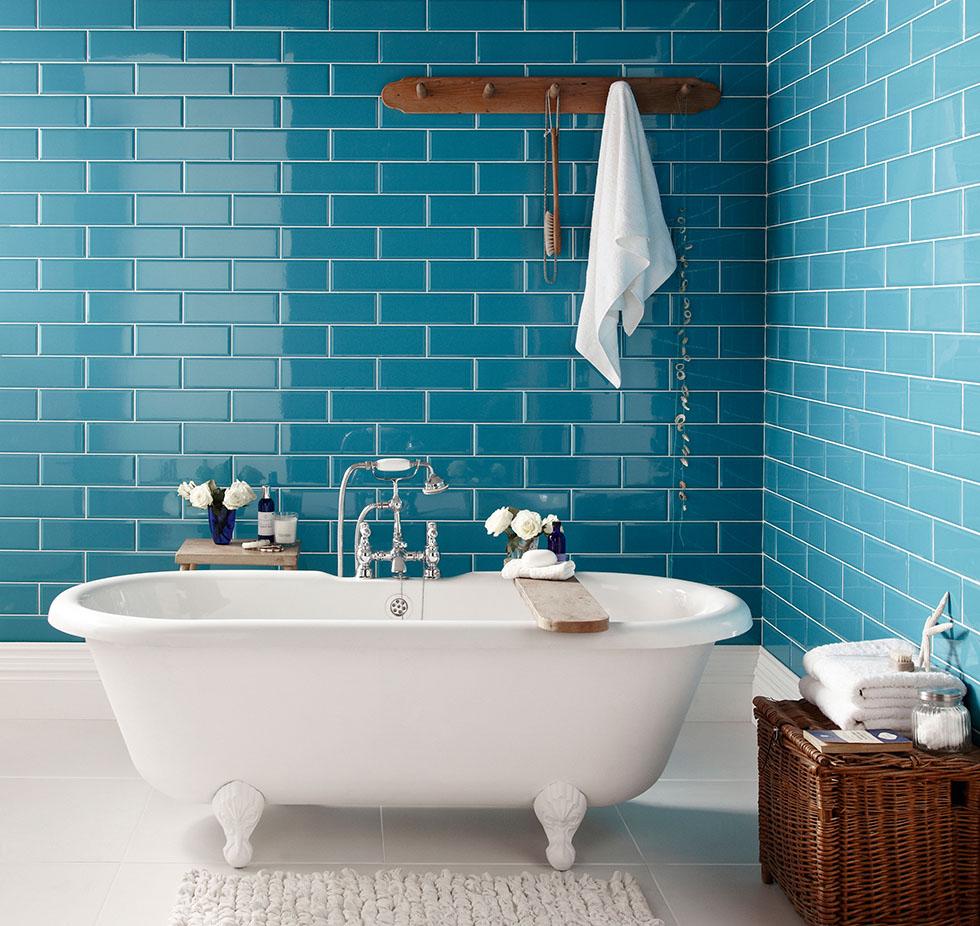 Paint tile bathroom