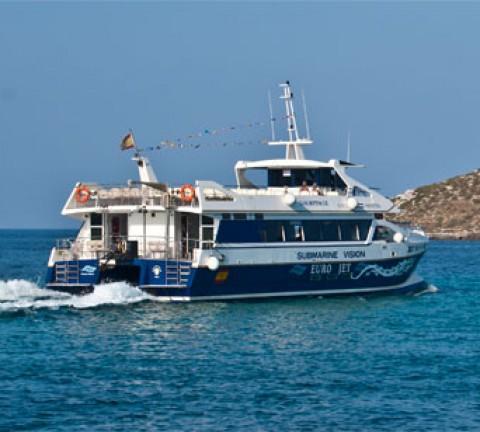 Barco desde Figueretas