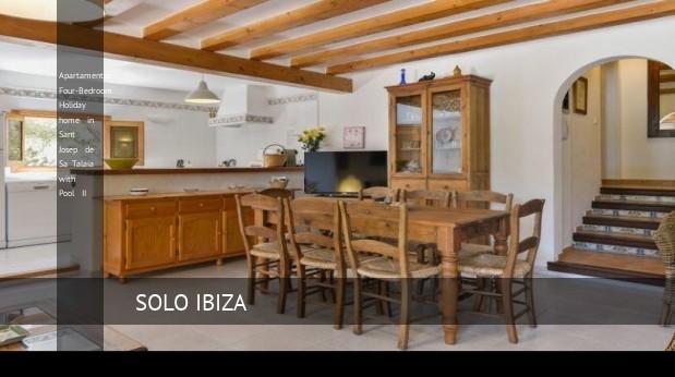 Apartamentos Four-Bedroom Holiday home in Sant Josep de Sa Talaia with Pool II, opiniones y reserva
