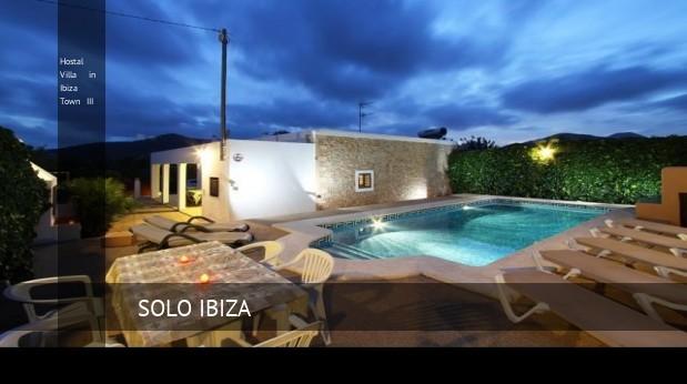 Villa in Ibiza Town III, opiniones y reserva