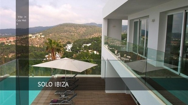 Villa in Cala Moli II, opiniones y reserva
