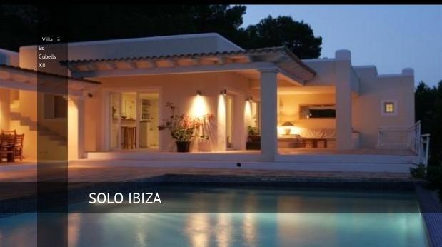 Villa in Es Cubells XII, opiniones y reserva