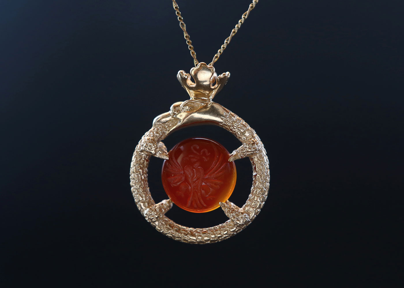 The Ouroboros Amulet Powerful Sacred Artifact Telos Magic