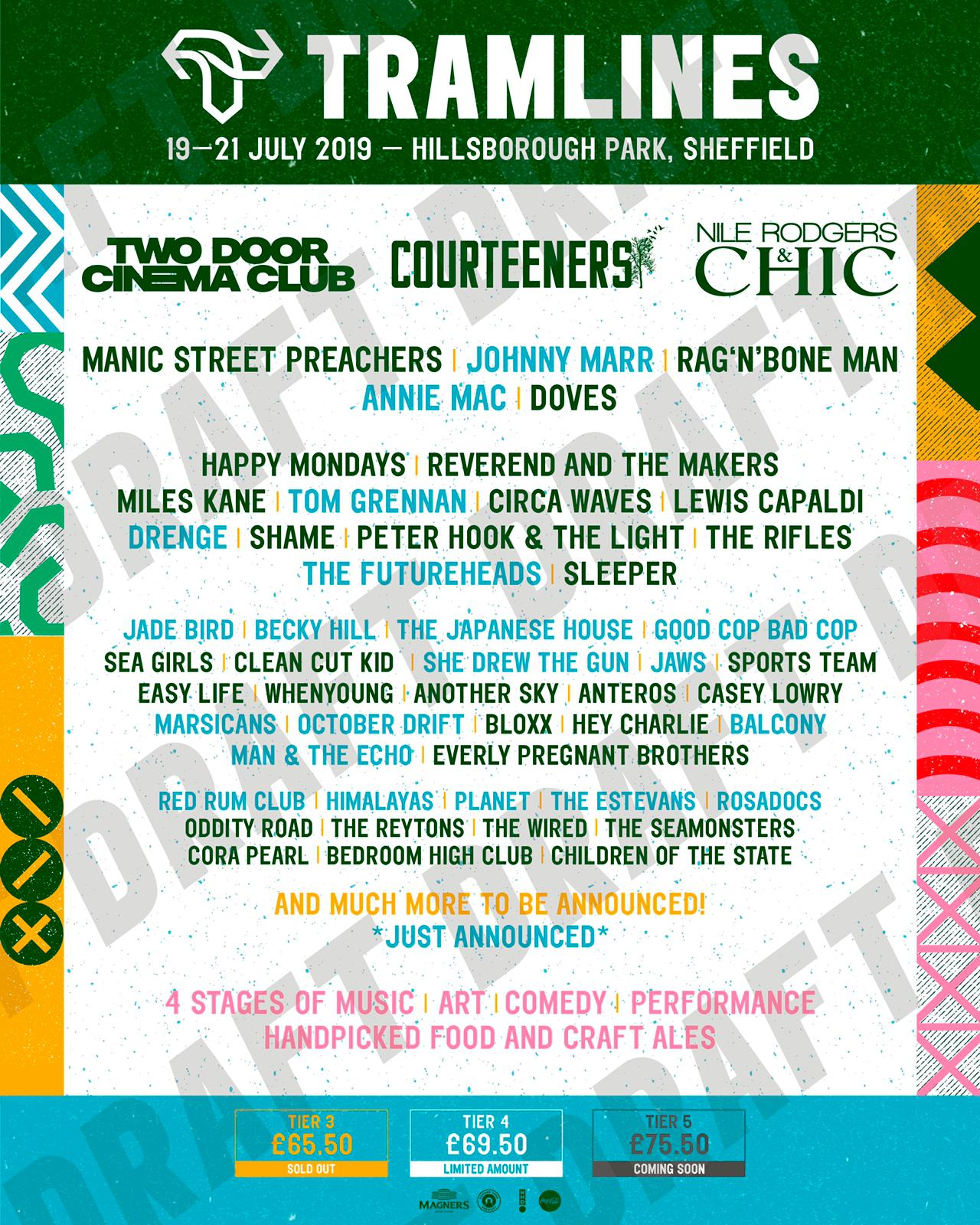 Tramlines Announcement