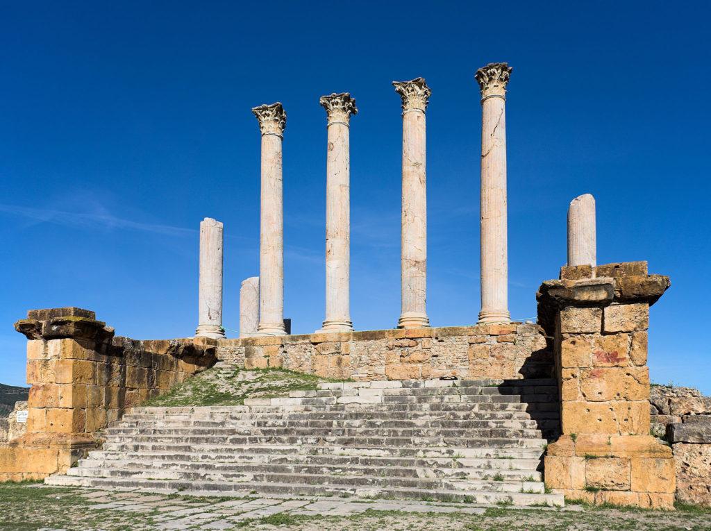 The Capitol, Thuburbo Majus, The Tell, Tunisia.