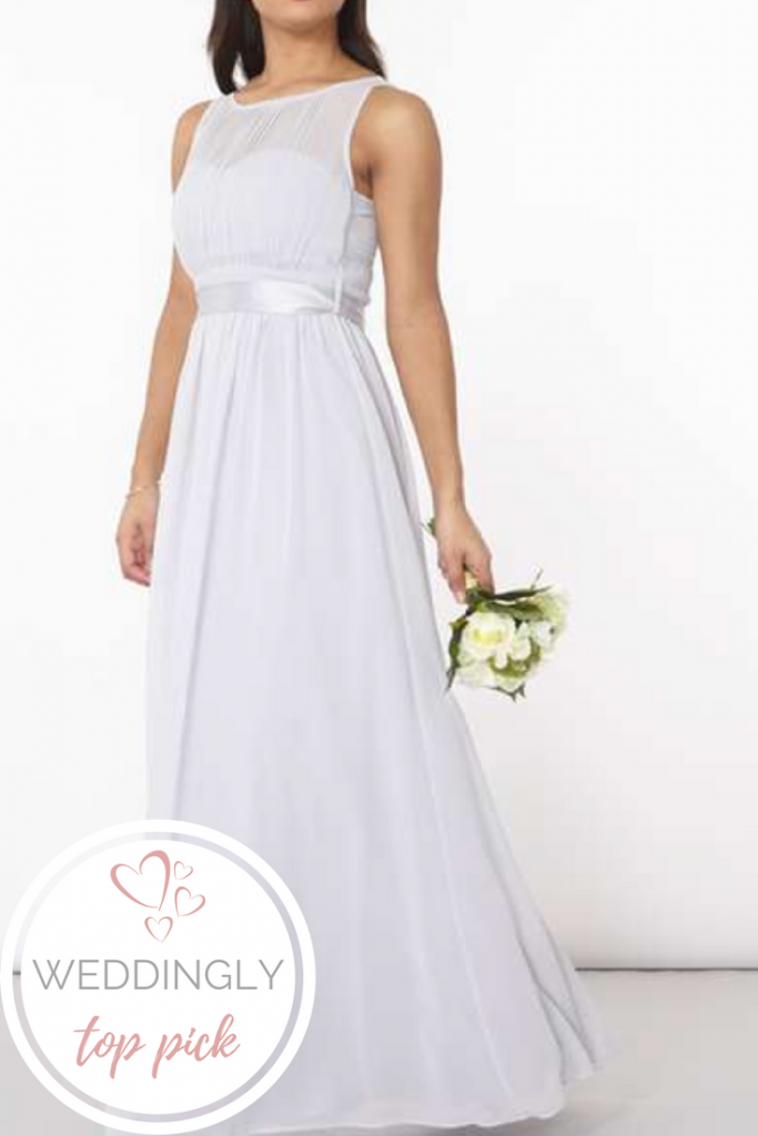 Weddingly Top 5 high-street bridesmaid dresses for under £100
