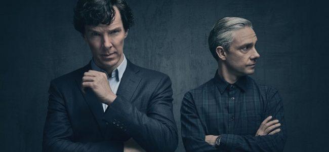 Picture shows: Sherlock Holmes (BENEDICT CUMBERBATCH) and John Watson (MARTIN FREEMAN)