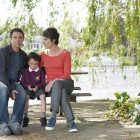 The Guilty - Jamie Sives as Jeb Colman, Tommy Potten as Sam Colman, Tamsin Greig as DCI Maggie Brand