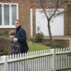 The Guilty - Jude Foley as Older Luke Reid and Darren Boyd as Daniel Reid