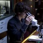 Sherlock in the kitchen at 221b Baker Street