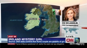 CNN Roma in Ireland