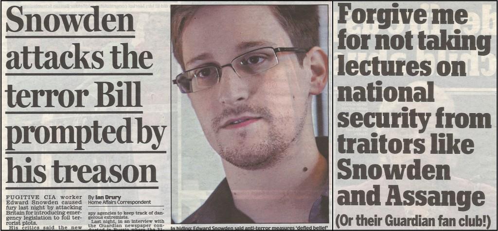 Snowden treason
