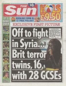 Sun terror twins