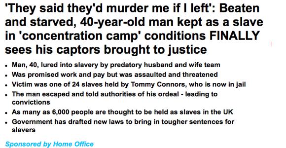 Daily Mail sponsored headline