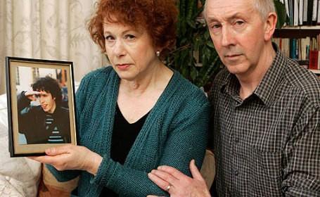 Jeremiah Duggan's parents